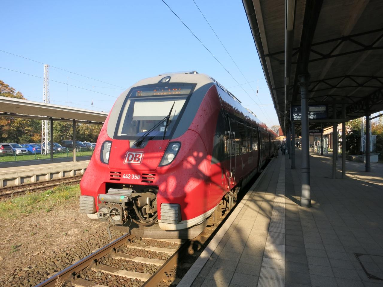 Bahn Hamburg Rostock